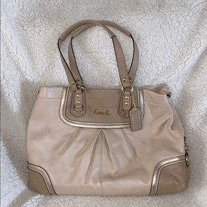 Coach purse (soft pink)